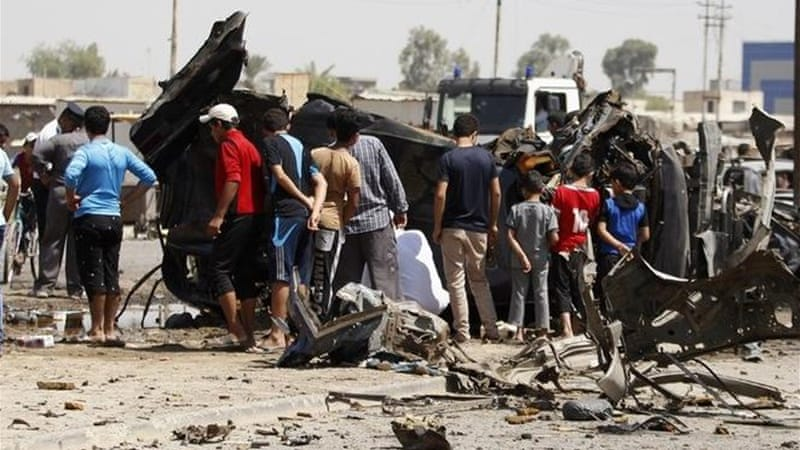 Deaths after five different car bomb attacks in Iraqi capital, including high security green zone [REUTERS]