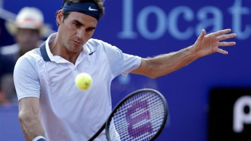 Federer crashed out of Gstaad in the first round against German Daniel Brands [Reuters]