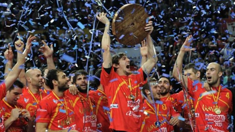 Spain won World Championships in January 2013 but economic recession has seen exodus of players [AFP]