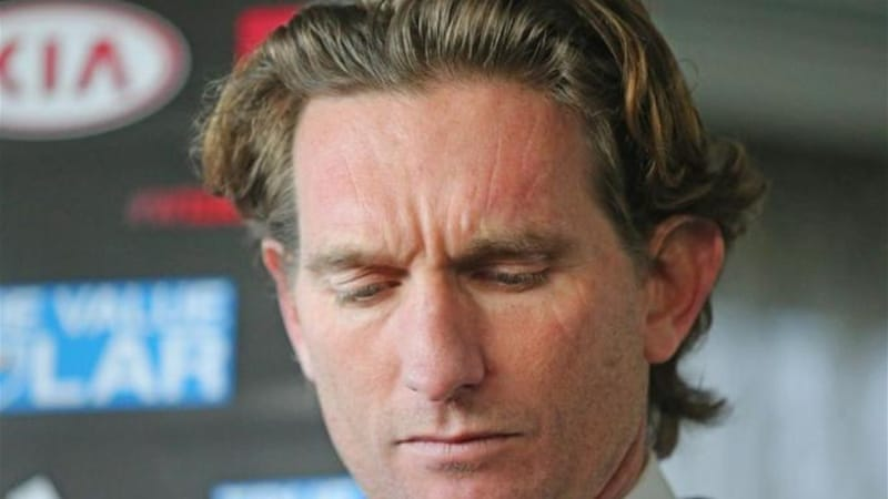 Bombers coach James Hird and other members of staff have been suspended after anti-doping probe [GETTY]
