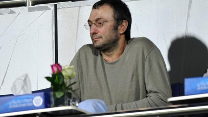 Anzhi billionaire owner Suleiman Kerimov triggered selling spree after putting whole team up for sale [AFP]