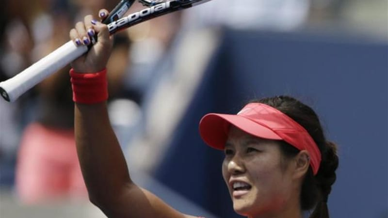 Volley good: 2011 French Open champion Li Na is seeking second title of the year in New York [AP]