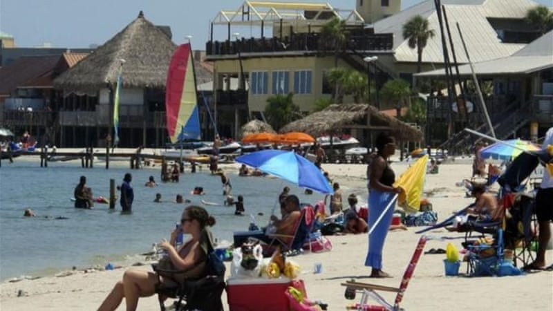 Twenty-three percent of Americans say they don't get paid vacation or paid days off on federal holidays [AP]