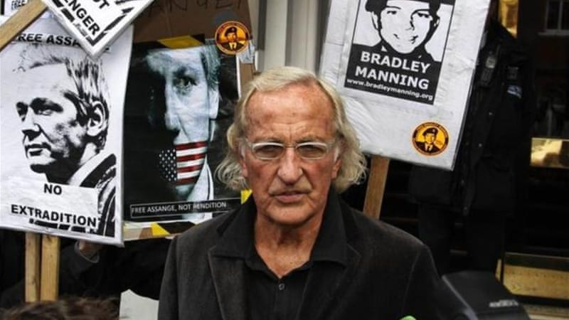 According to Pilger, the biggest threat to the so-called security establishment is still WikiLeaks [AP]