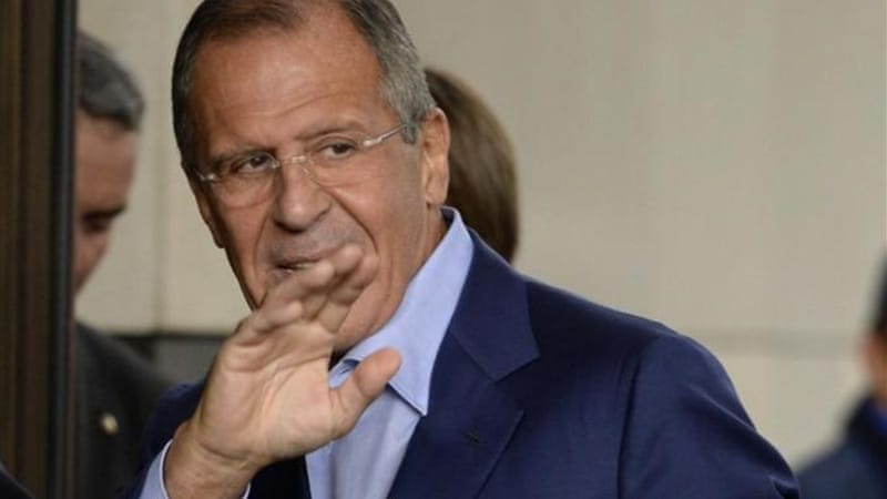 Lavrov says Moscow is ready to send troops to Syria to ensure the safety of UN chemical arms inspectors [AFP]