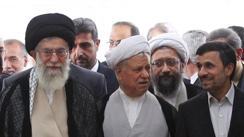 During the 2005 presidential elections, Khamenei's allies, using personal attacks against Rafsanjani, all but assured an Ahmadinejad victory [AP]