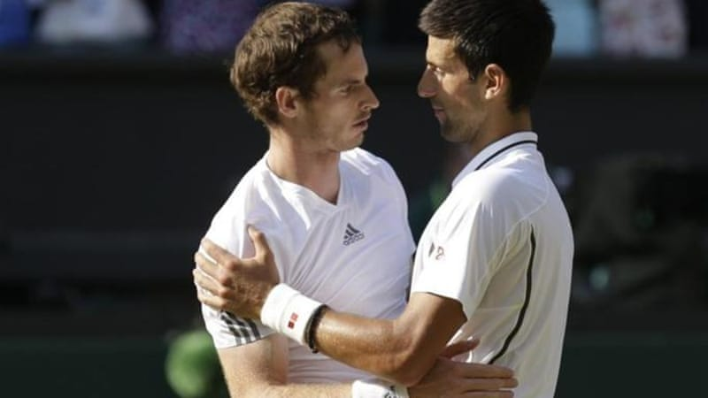 Despite the success of Andy Murray (L), the LTA has not been able to convert cash into world talent [AFP]