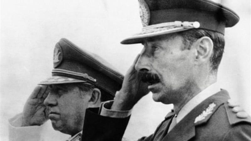 Military dictators like Augusto Pinochet used 'war on terror' as a pretext for crushing dissent and  'disappearing' citizens [AFP]