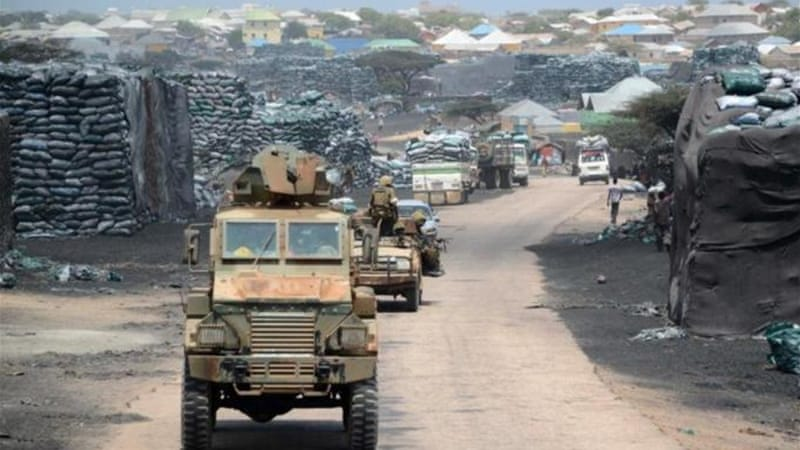 Kenyan forces moved into the Somali port city of Kismayo after al-Shabab fighters left in 2012 [AFP]