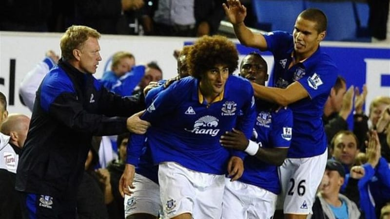 Moyes has brought in Belgium midfielder Marouane Fellaini who he worked with at former club Everton [GALLO/GETTY]