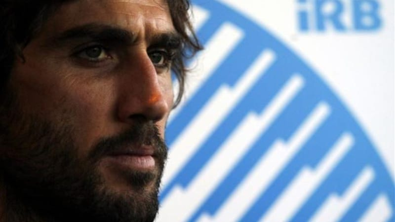 Argentina's Juan Lobbe (pictured) recently replaced Felipe Contepomi as captain for Rugby Championship [Reuters]