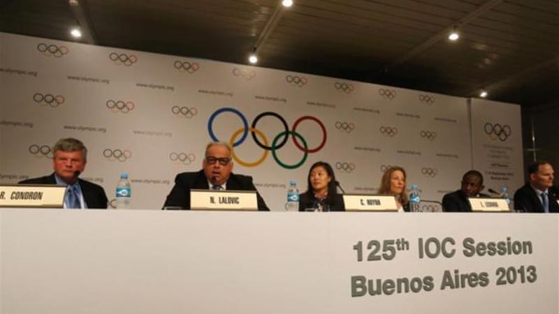 FILA president Nenad Lalovic and other wrestling figures are in Buenos Aires ahead of Sunday's vote [GETTY]