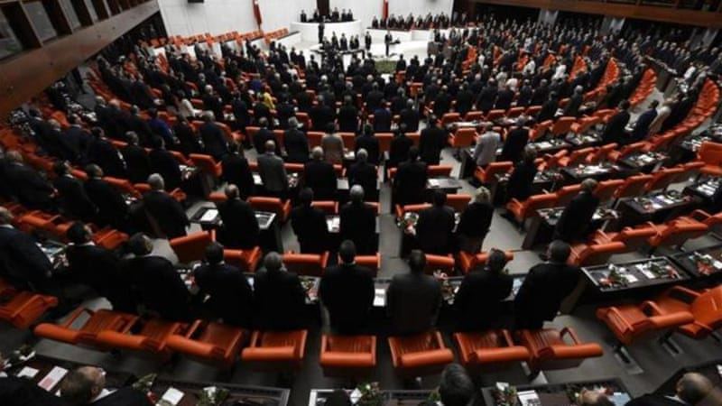 Erdogan's opponents view the reforms bill as an effort by the government to stifle a corruption scandal [EPA]