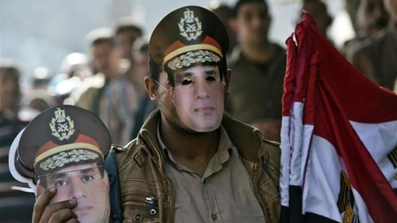 The new constitution replaces one from former president Morsi, who was overthrown by the army [AFP]