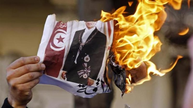After toppling its long-time leader in 2011, Tunisia helped spark mass uprisings across the Arab world [Reuters]
