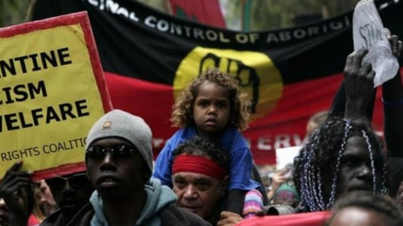 Australia's indigenous peoples have struggled for decades for rights to their land [Reuters]