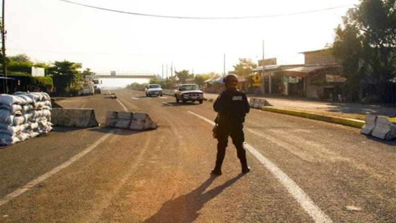 Mexican federal forces have taken over police duties in the restive state of Michoacan [AFP]