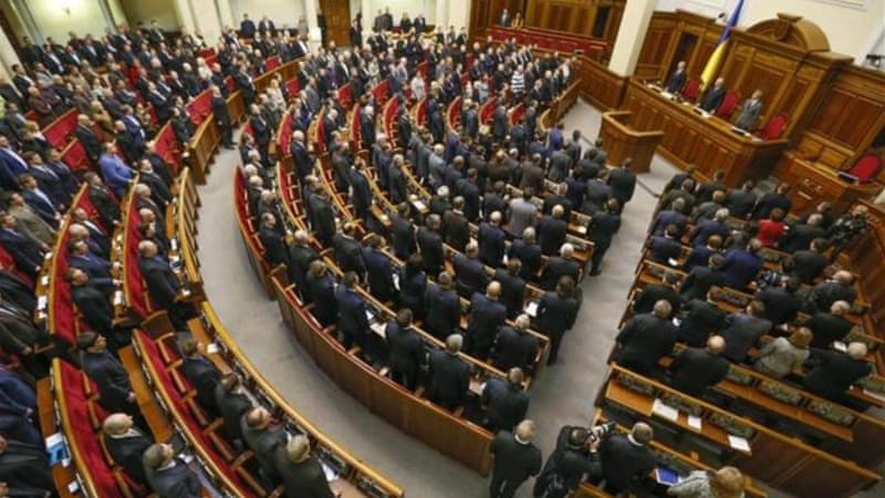 Strengthening the powers of the parliament might be a long-term solution to the crisis in Ukraine, writes the author [EPA]