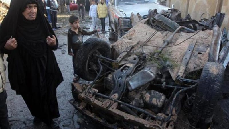 Car bombs targeted mainly Shia districts of the Iraqi capital on Wednesday [AFP]