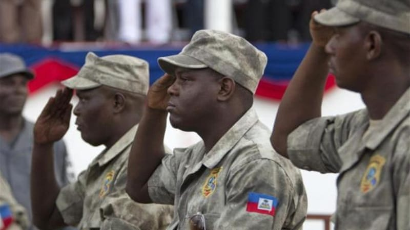 Haiti has only 10,000 police for its 10 million population [AP]