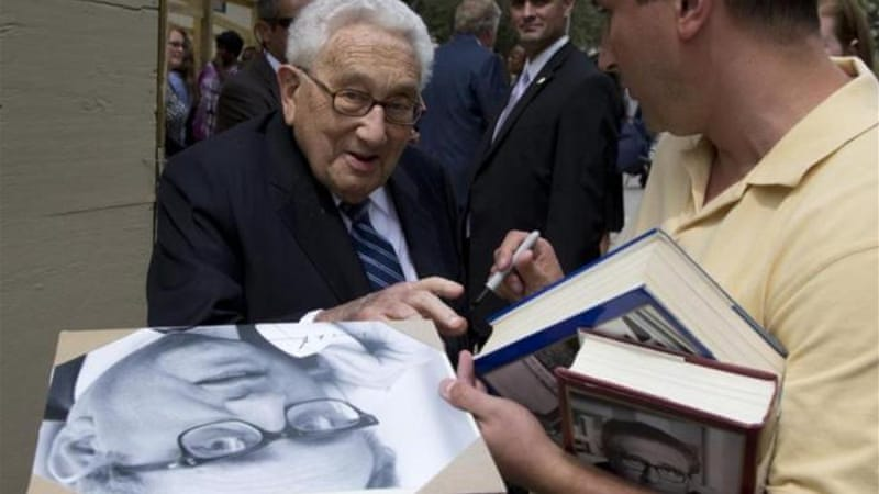 Kissinger is not wicked, but a realist par excellence, writes Oskanian [AP]