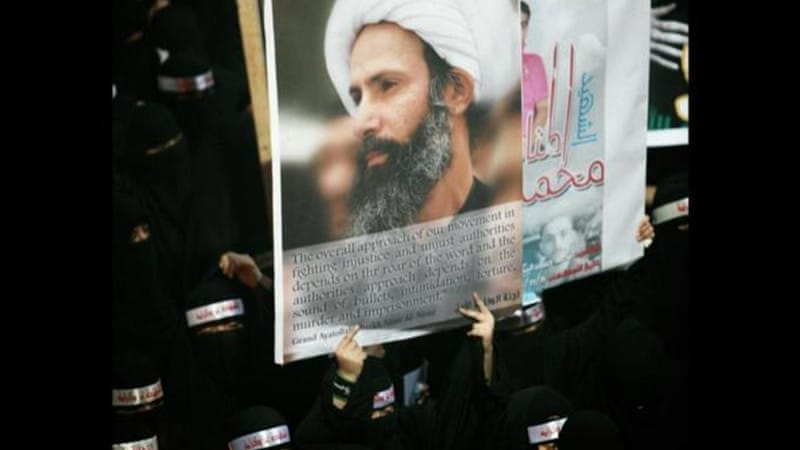 Nimr's family, calling the ruling politically driven, have called for dialogue with officials [AP]