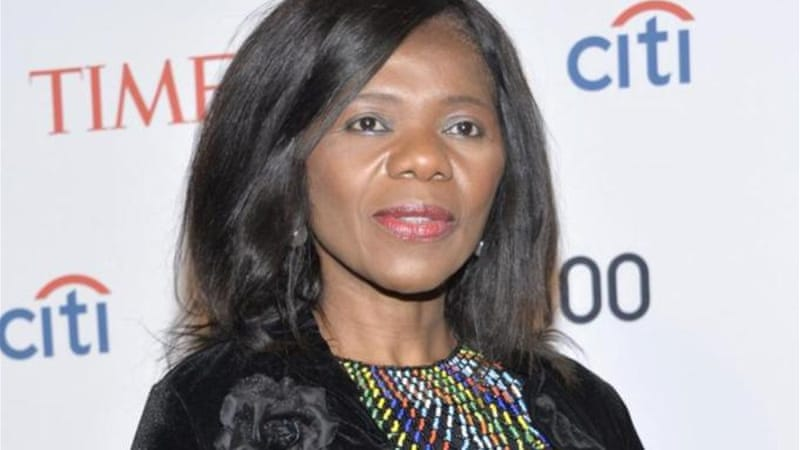In April 2014 Madonsela was named in Time magazine's list of the 100 most influential people in the world [Getty]