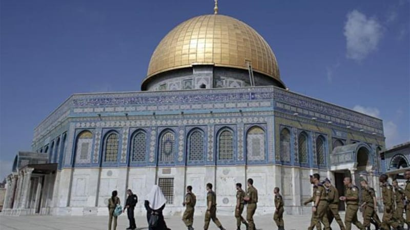 One of the most controversial bills would allow Jews to pray at the Temple Mount/Haram al-Sharif [AFP]