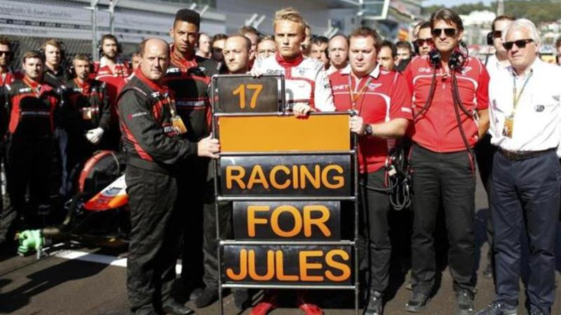 Marussia were already without the services of Jules Bianchi [REUTERS]