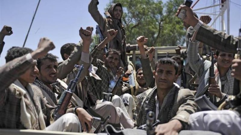Houthi rebels stormed Sanaa in September and have since seized a number of important towns [AP]