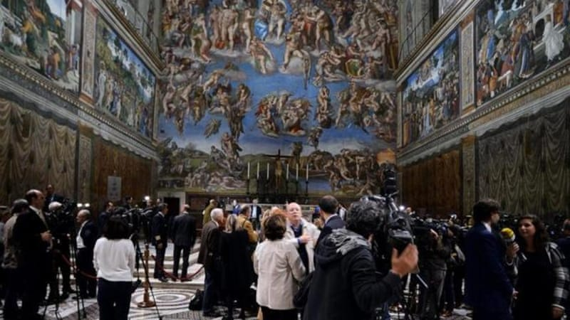 The Sistine Chapel is one of the greatest masterpieces of European art, writes Walsh [Getty]