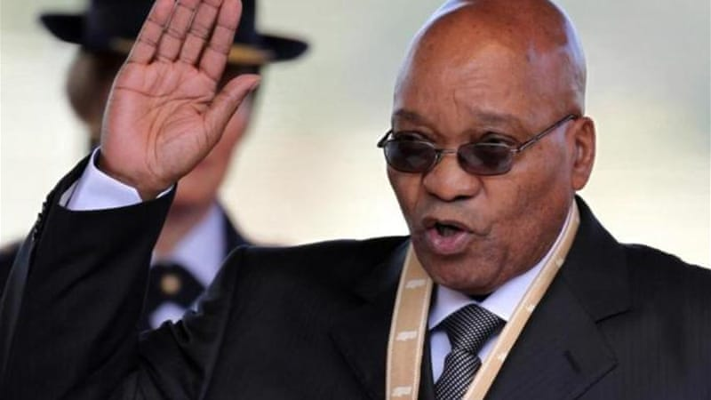 Zuma says he had no knowledge of the work on his house that has swimming pool, private clinic and amphitheatre [AP]