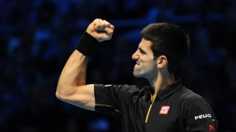 Djokovic's unbeaten run in the group stages ensured he will end the year as number one [Getty Images]