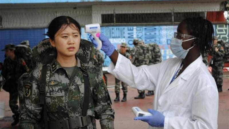 The new China team in Liberia includes a mix of doctors, nurses, technicians and engineers [Reuters]