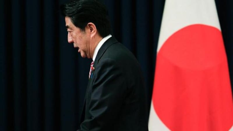 Japan emerged from its last recession in late 2012, just as PM Shinzo Abe took office [Getty]