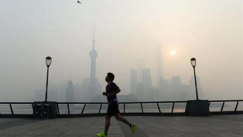 China is now the world's largest emitter of carbon, writes Weissman [AFP]