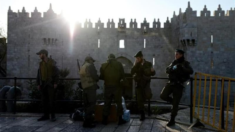 Israeli security forces tighten security measures in Jerusalem [Getty Image]