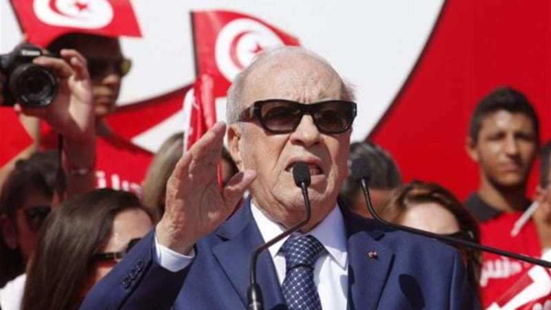 Beji Caid Essebsi is the closest thing Tunisians have to a presidential frontrunner, writes Sadiki [Reuters]