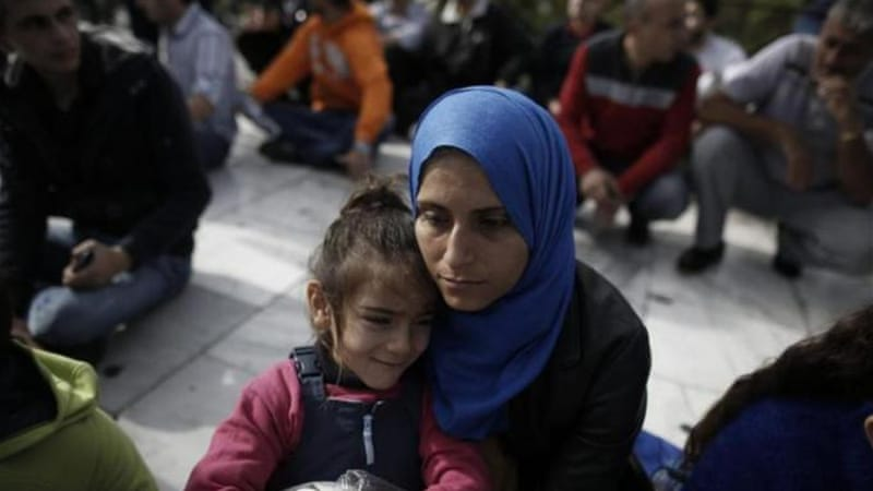 UNHCR has registered only 18,453 Syrian refugees in October [EPA]