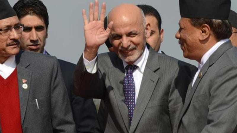 Afghanistan's President Ashraf Ghani asked leaders to try to reinvigorate regional cooperation [AFP]