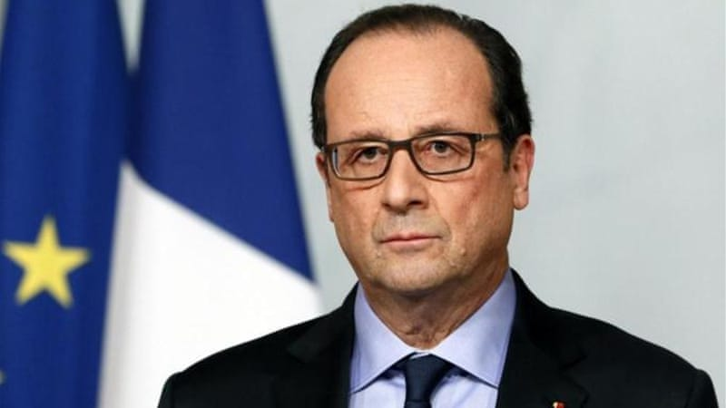 Hollande's previous partner published a bestselling memoir of their break-up recently [AFP]