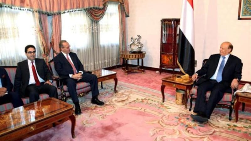 Yemeni President Abd Rabbu Mansour Hadi will need to walk a careful line if he wants to remain in power [EPA]