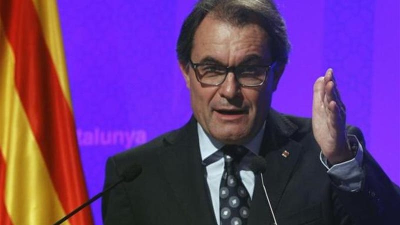 President of the Catalan regional government Artur Mas wants greater autonomy for Catalonia [AFP]