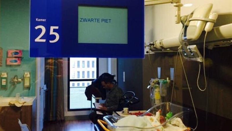 Goede Dutch hospital apologises for blackface reference in sign above DI-21