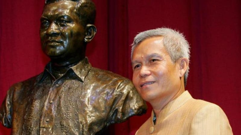 Sombath Somphone won the Ramon Magsaysay Award for Community Leadership in 2005 [AP]