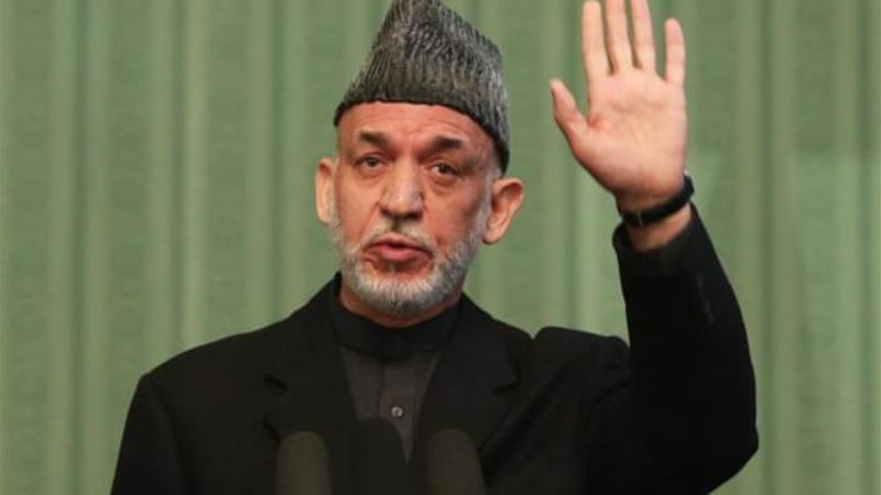 Karzai has tried to foster a perception that he is the de facto kingmaker in the April vote [AP]