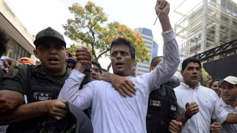 Leopoldo Lopez said he had nothing to hide from authorities [AFP]