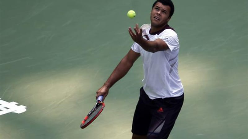 Tsonga has 10 career titles but has struggled to enjoy that success as he strives to win the big trophies [AP]