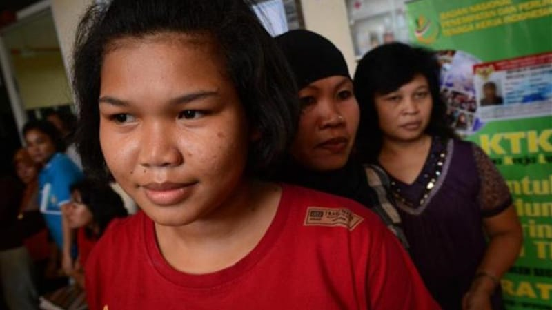 Indonesia provides little legal protection for its own domestic workers, writes Banu [AFP]