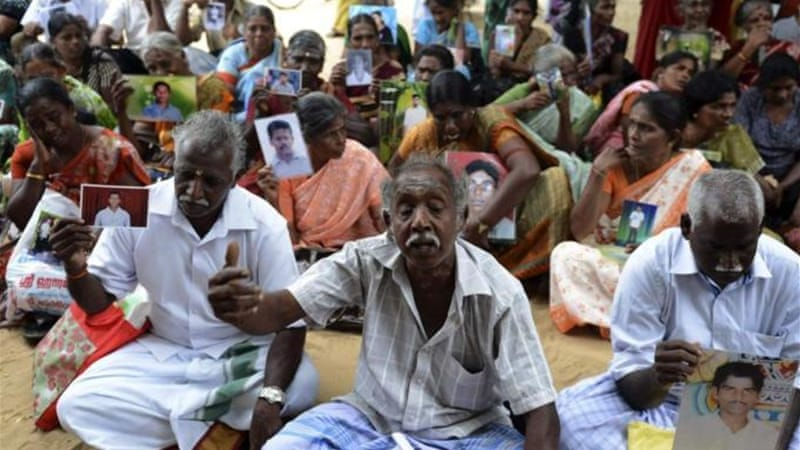 The Tamil Tigers enforced a mandatory draft towards the end of the conflict when many of their fighters died [Reuters]